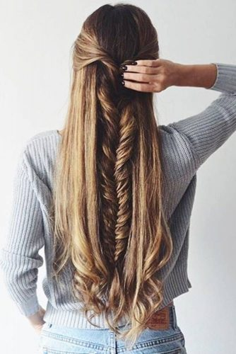 French Fishtail Braid Styles picture2