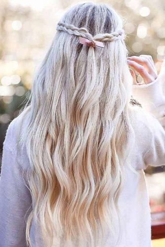 Half-Up Hairstyles For Long Hair picture1