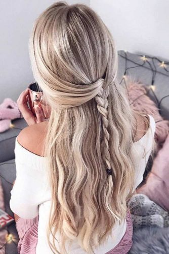 Half-Up Hairstyles For Long Hair picture3
