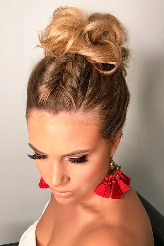 Updo Hairstyles For Medium Hair picture3