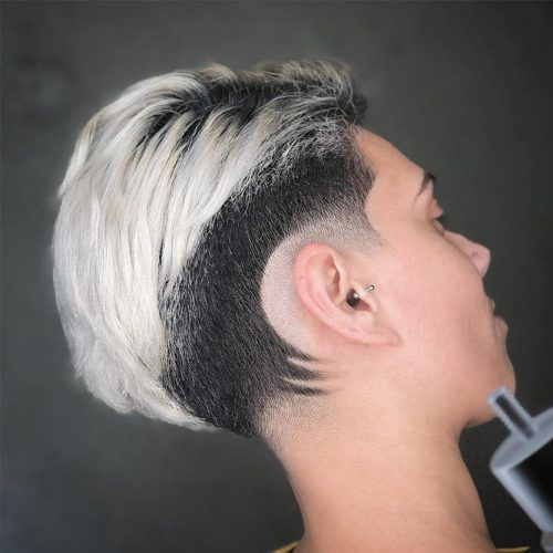 Long Faded Pixie #lowfade #fadehaircut #haircuts #pixiecut