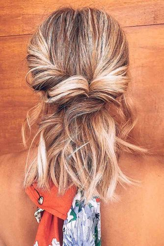 Half Up Hairstyles picture2
