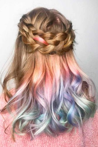Boho Hairstyles For Medium Length Hair picture1