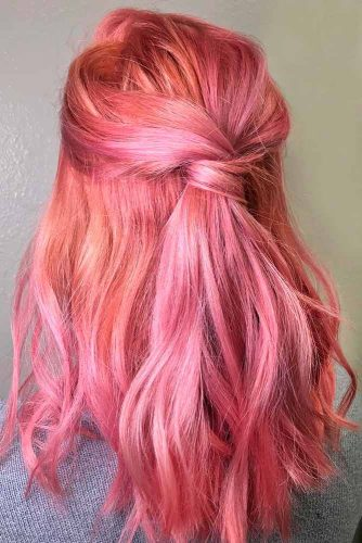 Half Up Hairstyles picture3