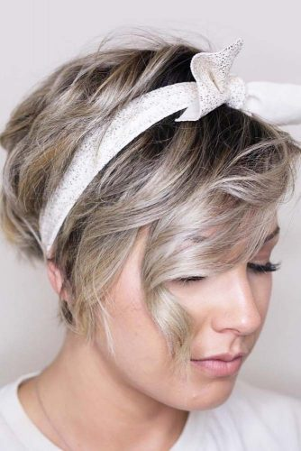 Wavy Pixie For Thick Hair picture1