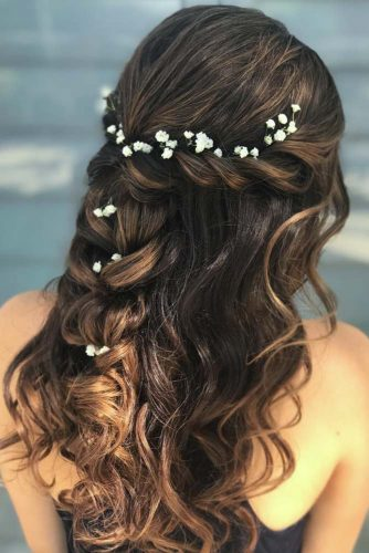 Girly Braided Half Up Half Downs picture 2