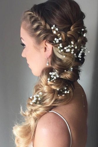 Braided Prom Hair For Boho Effect picture 1