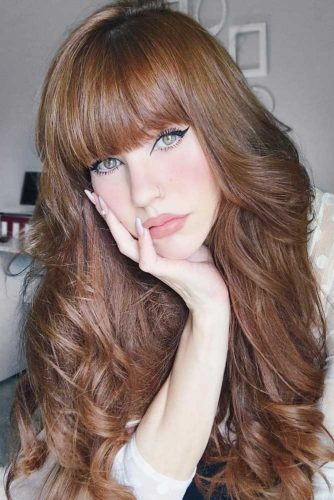 Golden Auburn Hair Color picture1