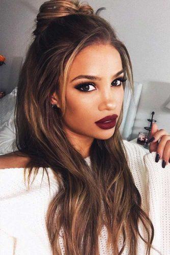 Burgundy Color Lipstick picture1