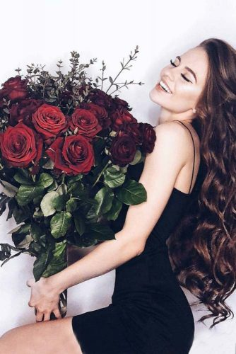 Gorgeous Burgundy Color Flowers picture1
