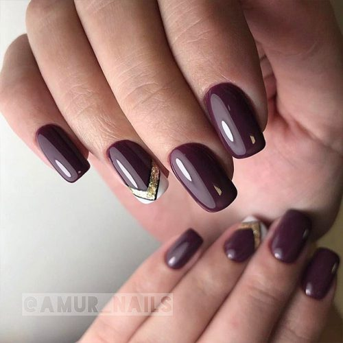 Burgundy Nail Designs picture1