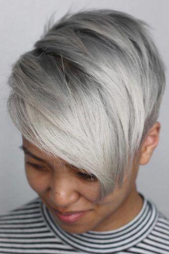 Asymmetrical Haircuts #shorthair #faceshapehairstyles