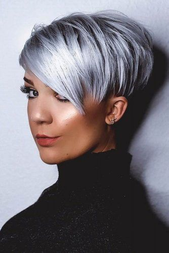 Layered Cut #pixie #layeredhair
