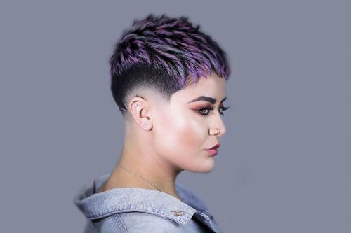 Undercut Fade Hairstyles For Bold Women