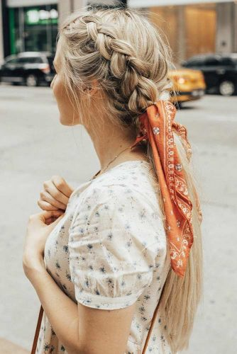 Cool Hairstyles Ideas To Try Ponytail #braids #longhair #blondehair