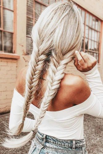 Classic Simple Braids Ideas Double Fishtails #braids