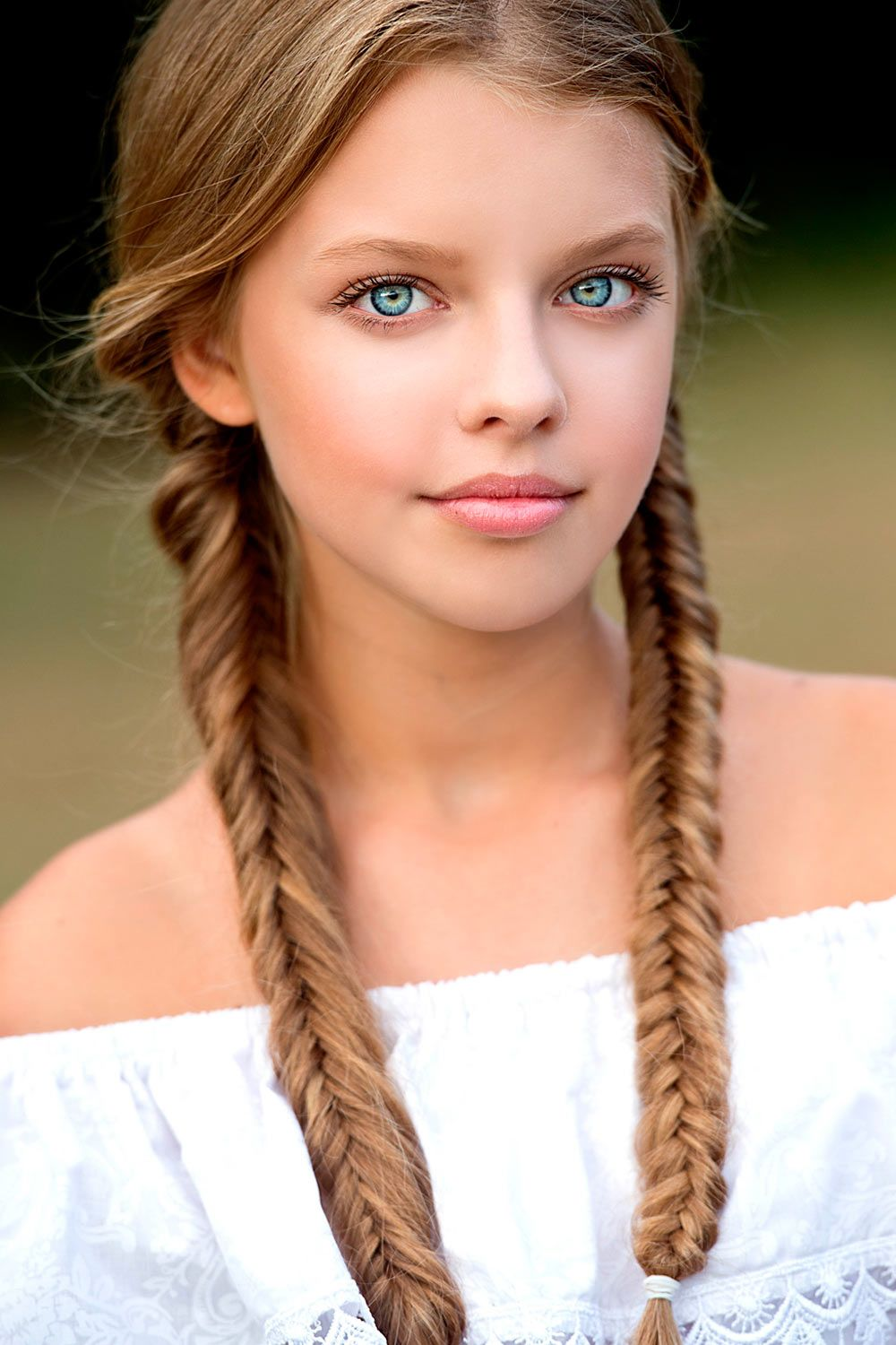 Extra Long Fishtail Double Braids