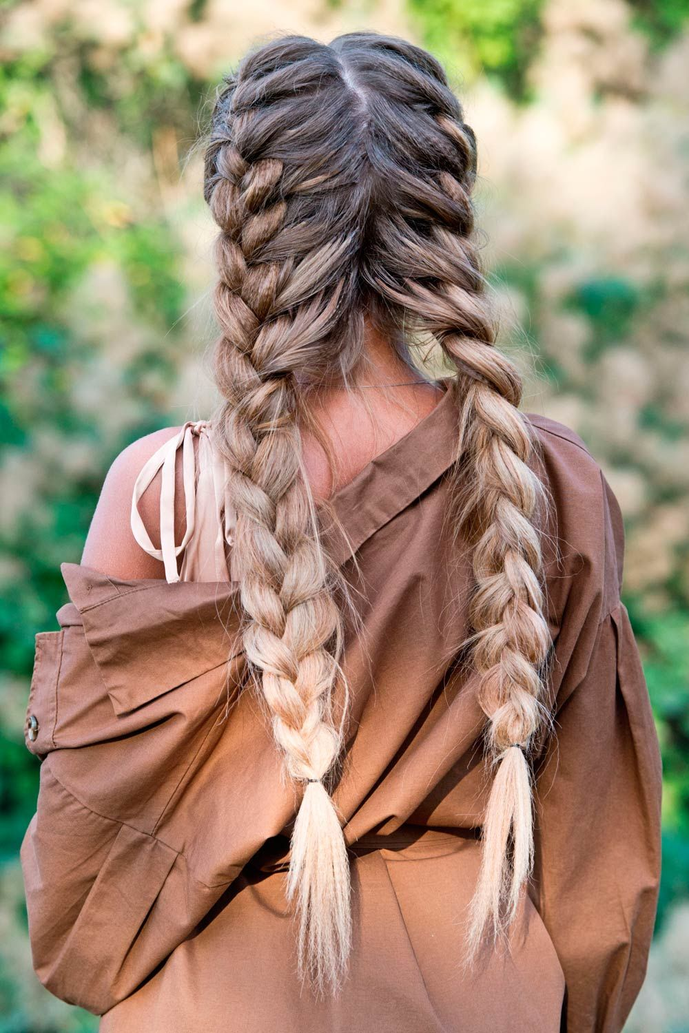 Long Dutch Braid Styles
