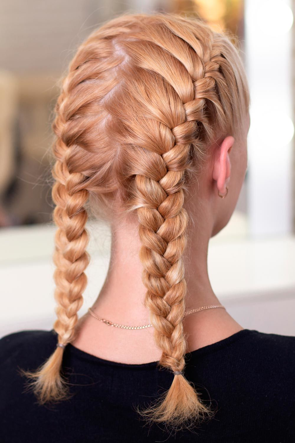 French Two Braids