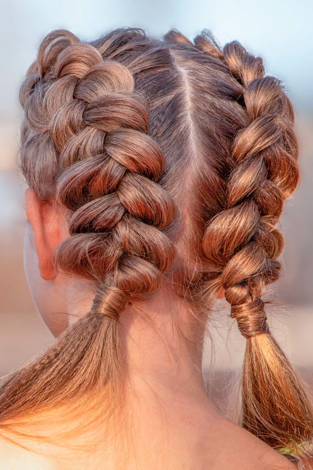Double Braids Pigtails