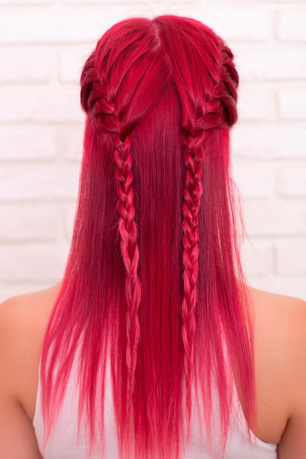 Hairstyles With Double Side Braids