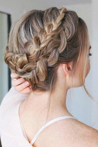 Double Braided Updo picture1
