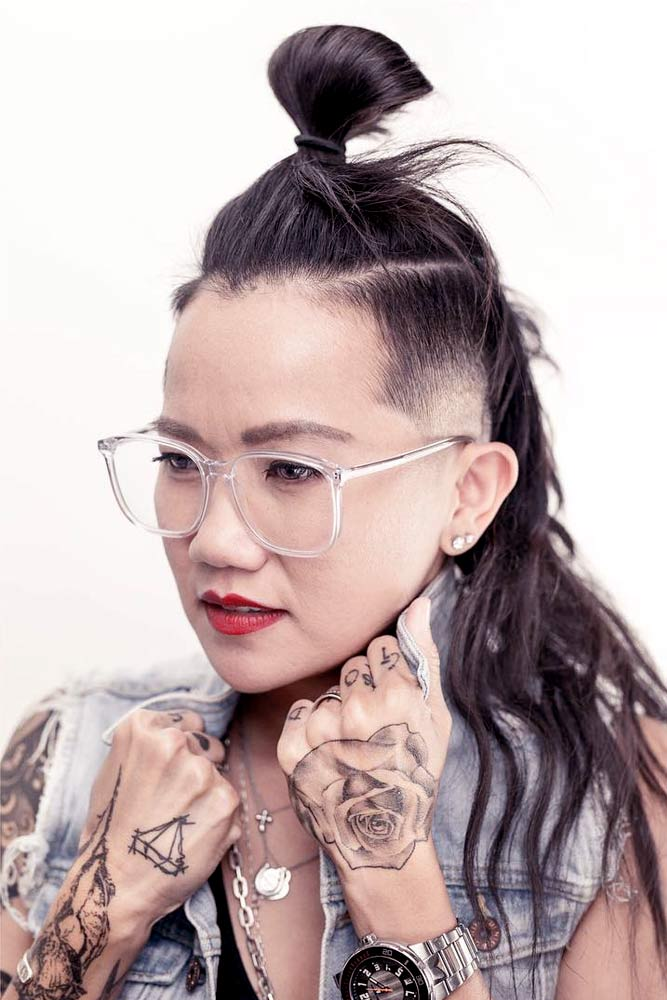 Undercut Fade With Long Hairstyles picture2