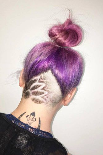 Medium Hairstyles With Undercut Fade #fadehaircut #undercut #haircuts