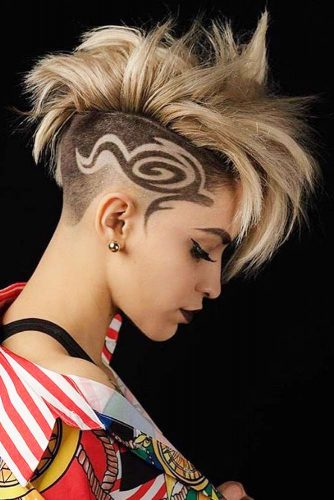 Undercut Fade With Tattoos picture1