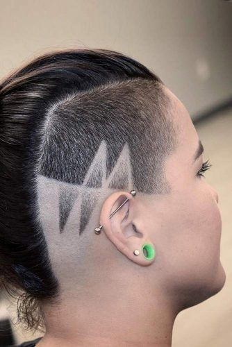 Side Undercut Fade For Medium Hair #fadehaircut #undercut #haircuts