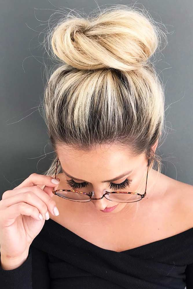 Sleek High Bun #updo #bun