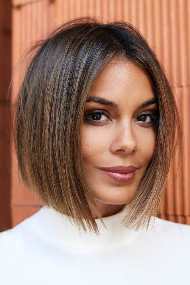 Sleek Blunt Inverted Bob #bob