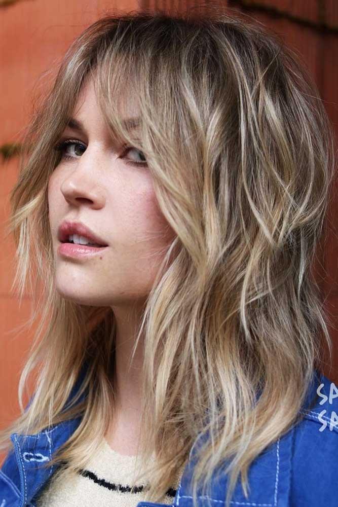 Medium Bardot Style #mediumhair #wavyhair
