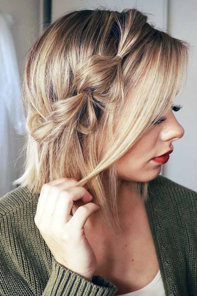 Side Pull Through Braid #braids
