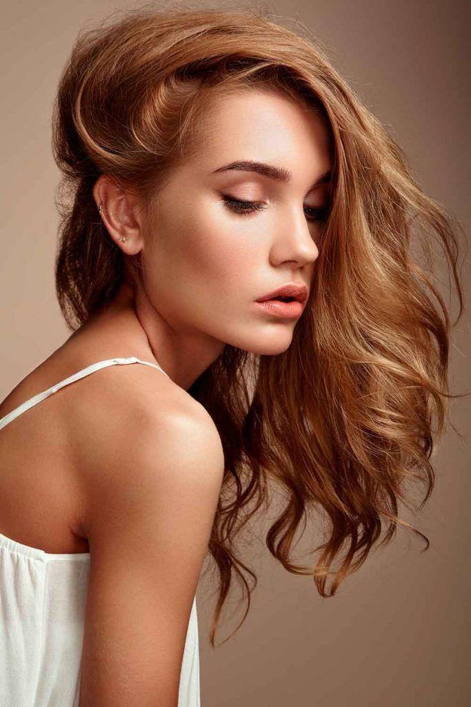 Textured Long Layered Haircut