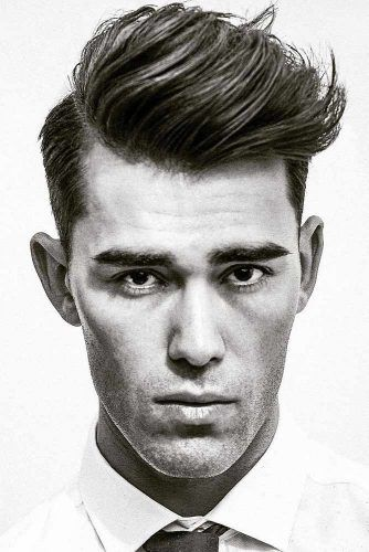 Side Part Hairstyle With Textured Hair On Top #combover #sidepart