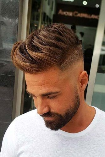 High And Low Fade Comb Over #menhaircuts #menhairstyles