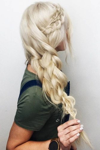 Voluminous Double Braid