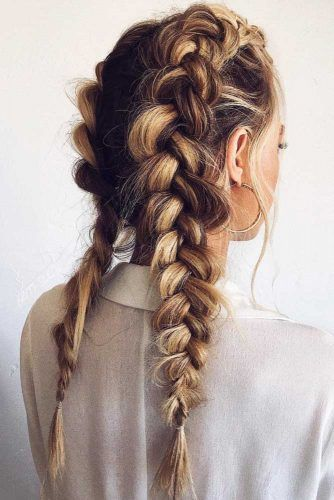 Double Dutch Braids #braids