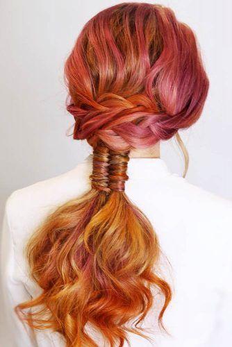 Double & Infinity Braids #braids