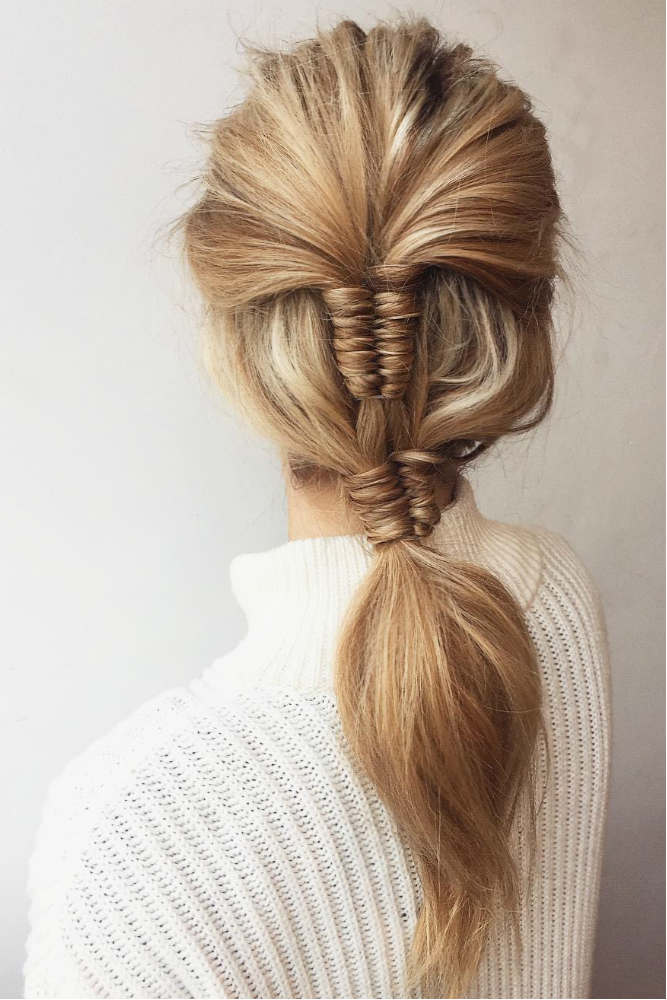 Graduation Double Infinity Braid #hairstyle #braids #infinitybraids