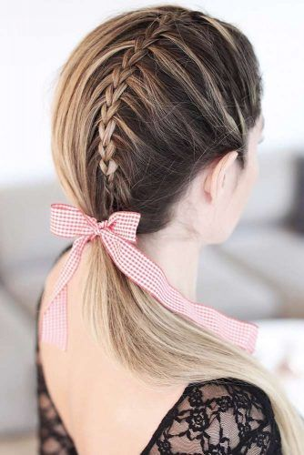 Scissor Waterfall Braid #braids