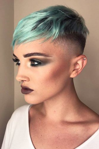 Chic Fade Haircut #highfadehaircut #fadehaircut #shorthaircut #shorthair