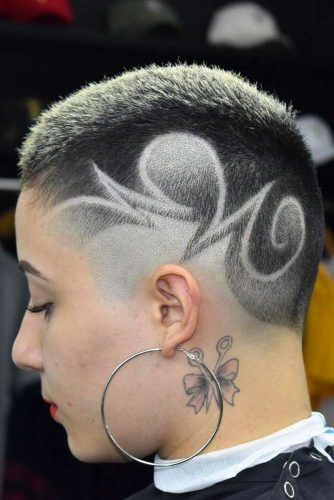 High Fade Cut With Hair Tattoo #highfadehaircut #fadehaircut #shorthaircut #hairtattoo