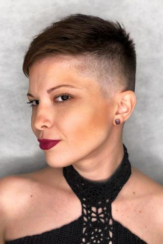 Short Layered Pixie With Faded Sides #highfadehaircut #fadehaircut #shorthaircut