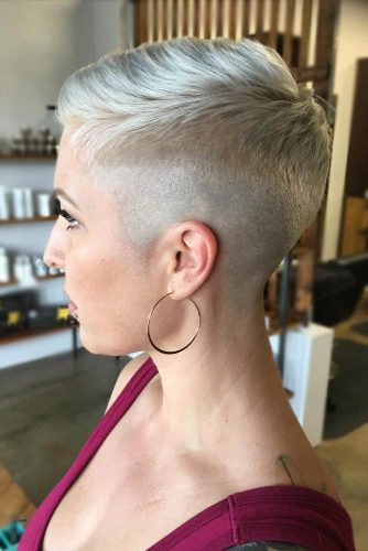Short Faded Pixie #highfadehaircut #fadehaircut #shorthaircut #pixiecut #blondehair