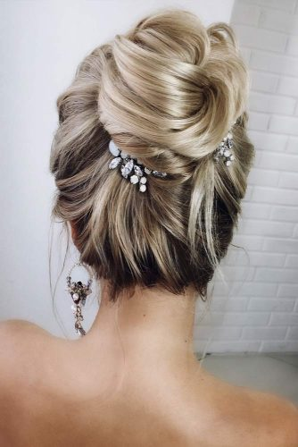 Accessorized High Bun