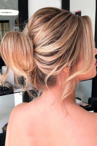 Dry Shampoo For Lovely Updos #bunhaistyles #updohairstyles #messybun