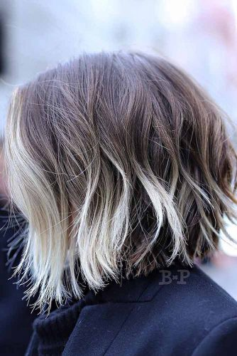 Brown To Blonde Ombre #shortombrehair #highlights #shorthair #bobhaircut #brownhair