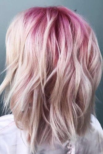 Pink & Ice #ombre #shorthair